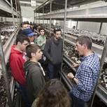 Alumnos del Basque Culinary Center visitan el CTIC (Centro Tecnológico de Investigación del Champiñón)