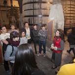 Alumnos del Basque Culinary Center visitan las bodegas López de Heredia, Roda, La Rioja Alta, Gómez Cruzado, Bodegas Bilbaínas y Cvne, en Haro (La Rioja)