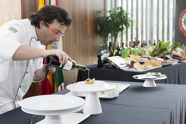Juan Ángel Rodrigálvarez en un acto de La Rioja Capital