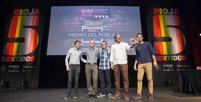 Entrega del premio del público a La Yerma